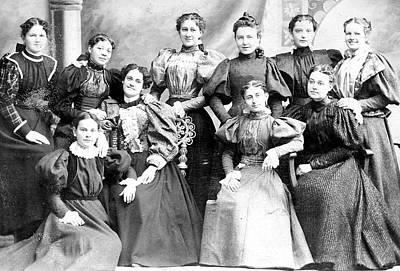 Them Wacky Women Of The Late 1800s Art Print by Steve Archbold