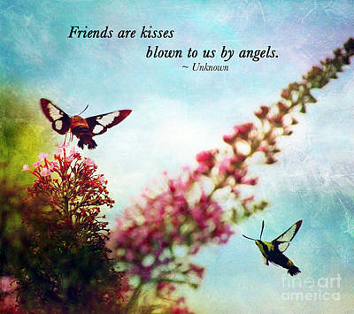 Friends Are .....  Art Print