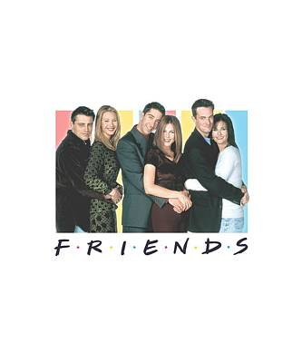 Ross Digital Art - Friends - Cast Logo by Brand A