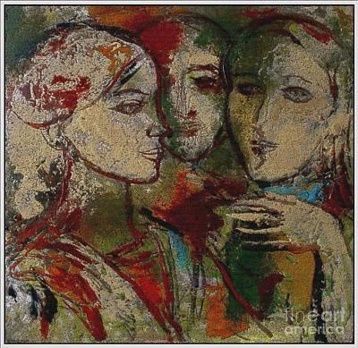 Pemaro Painting - Friends Fr1 by I Filtshev and Pemaro