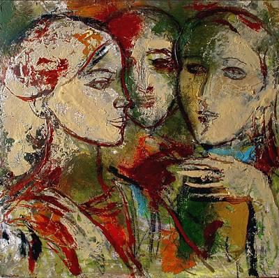 Pemaro Painting - Friends by Ivan Filchev