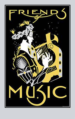 Friends Of Music Art Print