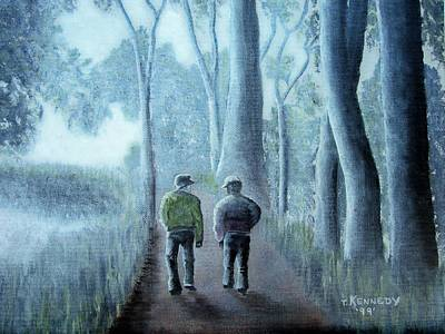 Painting - Friends by Thomas F Kennedy