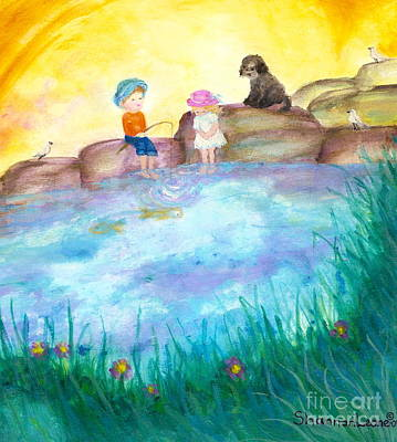 Wall Art - Painting - Friends With Feelings by Shakaya Leone