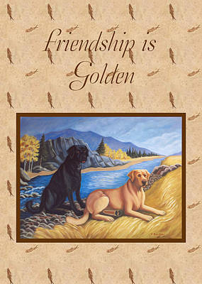 Painting - Friendship Card by Ruth Soller