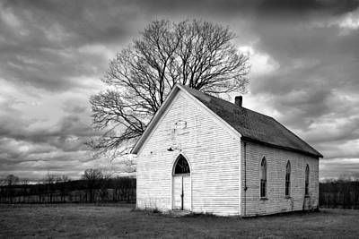 Art Print featuring the photograph Friendship Church by Wendell Thompson