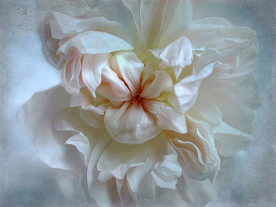 Print featuring the photograph Friendship Is The Breathing Rose by Louise Kumpf