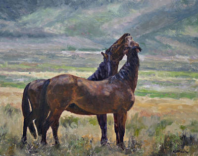 Painting - Friendship by Karen McLain