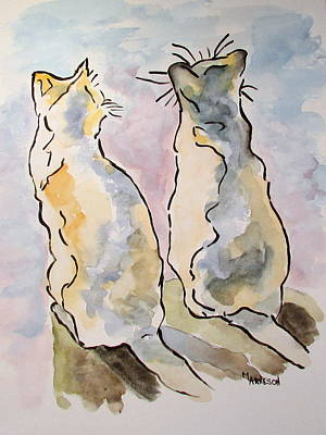Painting - Friendship by Mary Arneson
