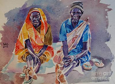 Friendship  Art Print by Mohamed Fadul