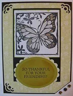 Mixed Media - Friendship Note Card by Cheryl Depler