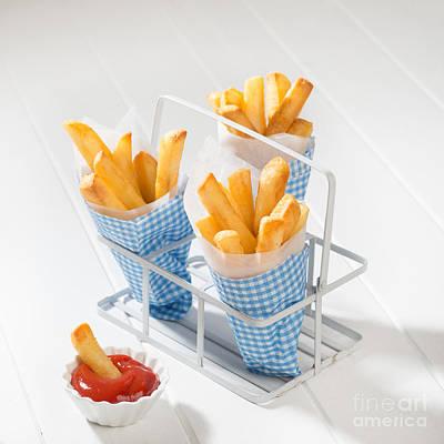 Potato Chip Photograph - Fries by Amanda Elwell