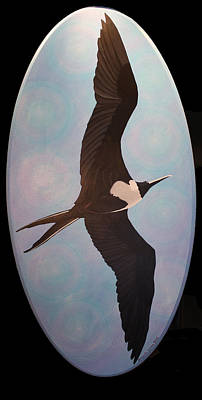 Painting - Frigate Bird by Amanda  Lynne