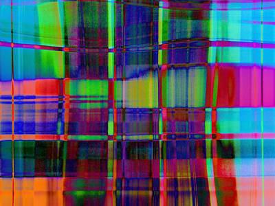 Photograph - Frigid Plaid Version 3 by David Pantuso