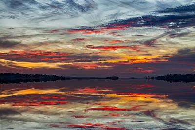 Photograph - Fripp Inlet Sunset 01 by Jim Dollar