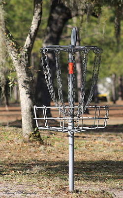 Photograph - Frisbee Golf by Debra Forand