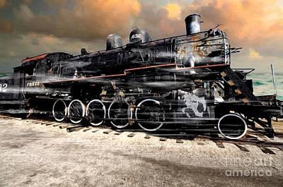 Photograph - Frisco 1632 Locomotive by Liane Wright