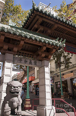 Photograph - Frisco Chinatown by Brenda Kean