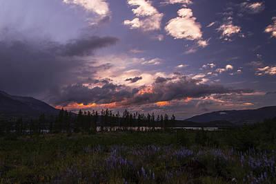 Path Photograph - Frisco Colorado Sunset by Michael J Bauer