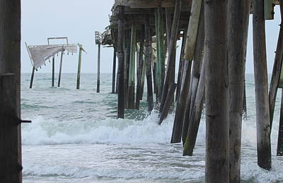 Hatteras Photograph - Frisco Pier 19 by Cathy Lindsey