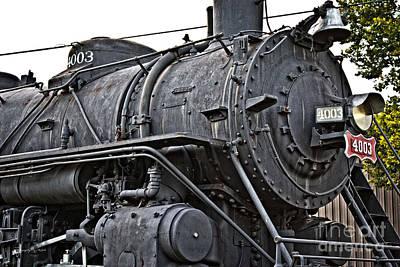 Photograph - Frisco Train Locamotive One by Ms Judi