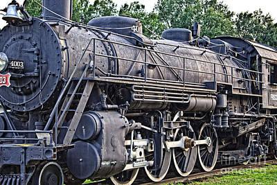 Photograph - Frisco Train Locomotive Three by Ms Judi