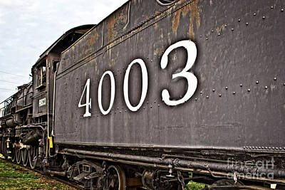 Photograph - Frisco Train Tender by Ms Judi