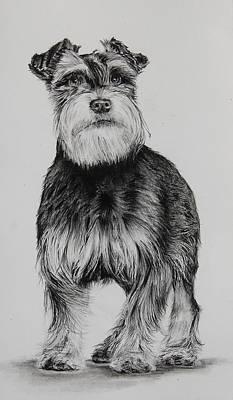 Fritz Art Print by Jean Cormier