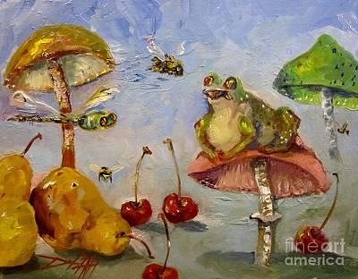 Frog Fantasy Original by Delilah  Smith
