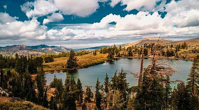 Amador County Photograph - Frog Lake In The Mokelumne Wilderness by Don Bendickson
