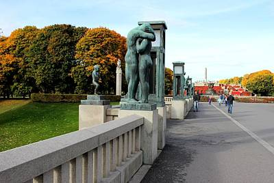 Photograph - Frogner Park by Jeanette Rode Dybdahl