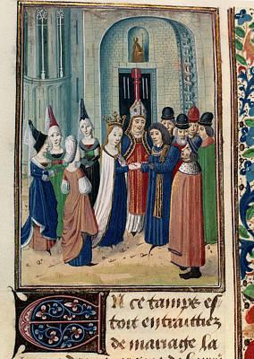 Froissart's Chronicles Art Print