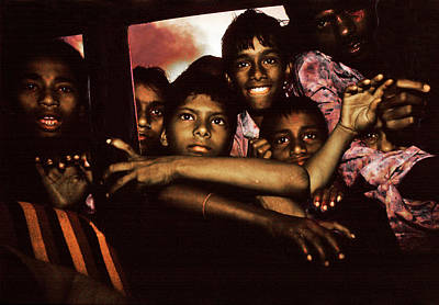 Photograph - From A Taxi View In India by Joe  Connors