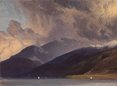 Fearnley Painting - From Balestrand At The Sognefjord by Thomas Fearnley
