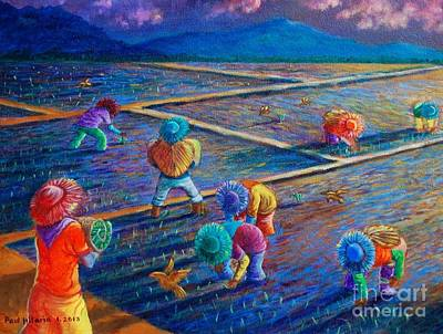 Filipino Painting - From Dawn by Paul Hilario