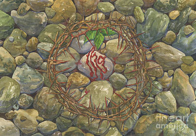 Forgiveness Painting - From Death Comes Life by Mark Jennings