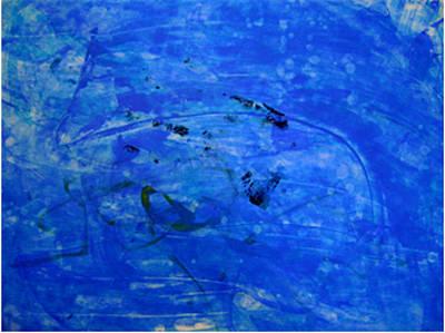 Painting - From Deep Under by Cruz Selene Ambrosio