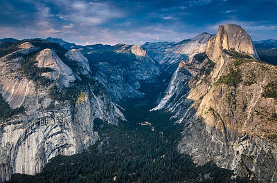 Photograph - From Glacier Point by Greg Nyquist