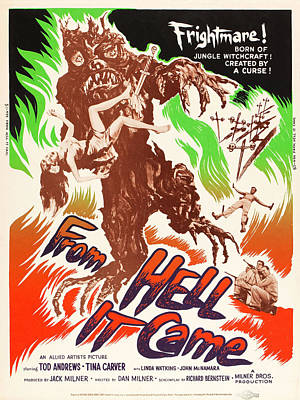 Horror Photograph - From Hell It Came by MMG Archives