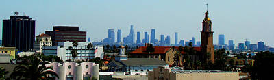 Down Town Los Angeles Photograph - From Hollywood To Downtown by Leonard Johnson