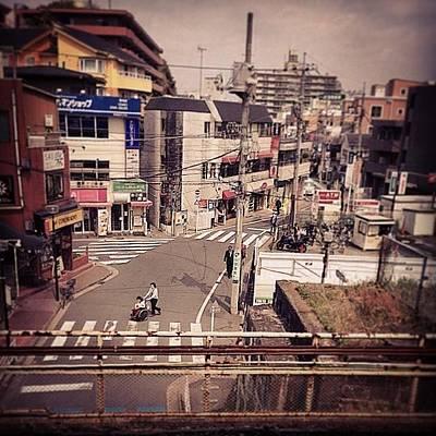 From #jr #tsunashima Station #yokohama Art Print