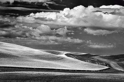 Contour Farming Photograph - from Kamiak Butte by Latah Trail Foundation
