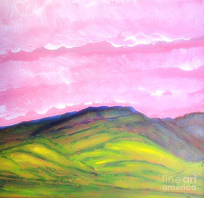 Painting - From Kings River Valley Near Winnemucca 1 by Richard W Linford