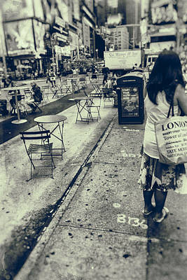 Photograph - From London To New York by Karol Livote