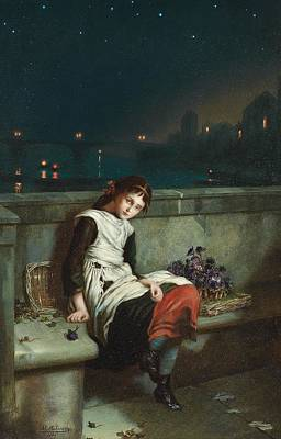 Morn Painting - From Morn Til Night by Augustus Mulready
