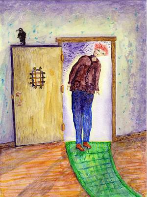 Mysterious Doorway Painting - From Mystery To Mystery by Jim Taylor