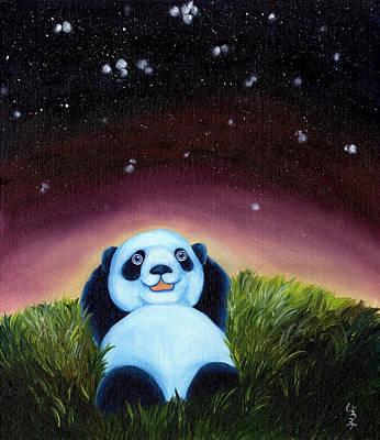 From Okin The Panda Illustration 5 Art Print