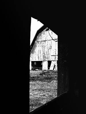 Photograph - From One Barn To Another by Kristie  Bonnewell