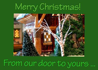 Photograph - From Our Door To Yours  0186 by Jerry Sodorff