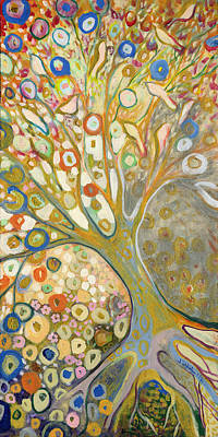 Klimt Painting - From Out Of The Rubble Part B by Jennifer Lommers